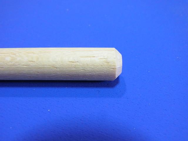 プロクソン ミニディスクサンダーで削った丸棒