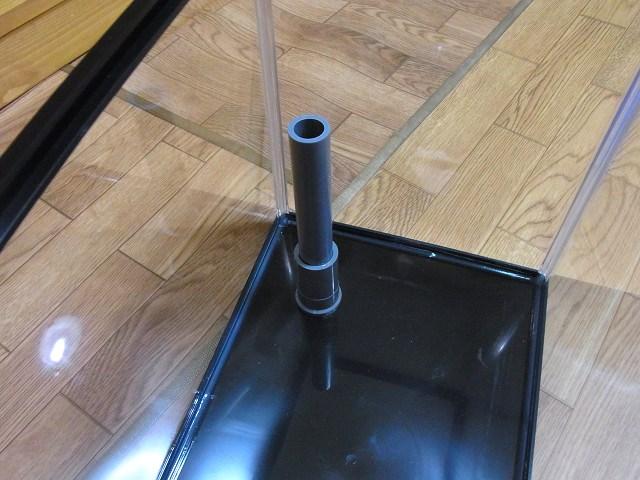 排水管(オーバーフロー管)の取り付けイメージ