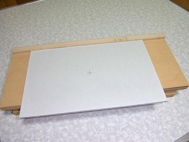 オリジナルの作業台(治具)