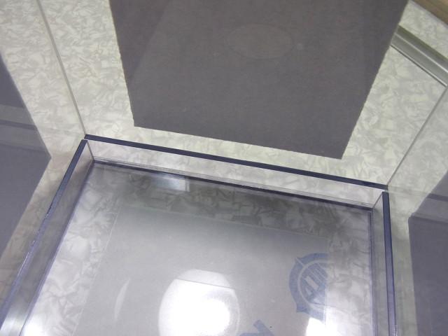 自作塩ビ製ウールボックスの補強板の取り付け作業終了
