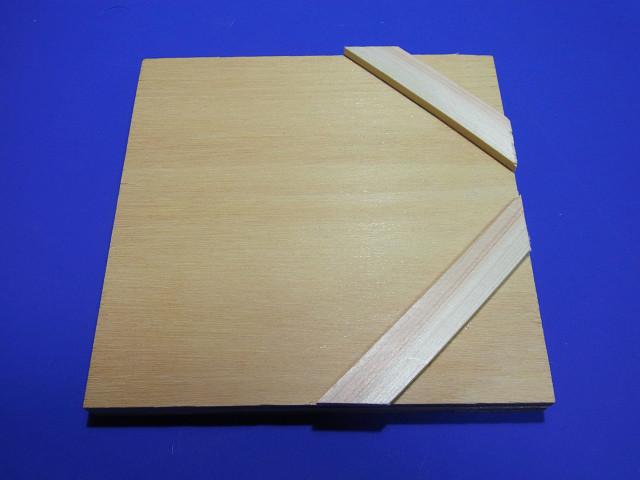 塩ビ板工作用のオリジナル治具