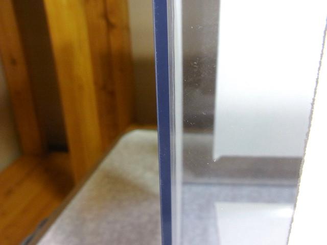 自作濾過槽の接着部分
