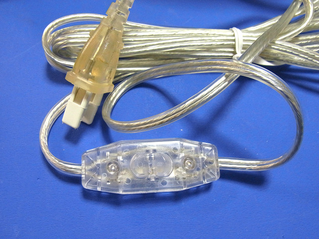 ヴォルテスのスイッチ付の電源コード