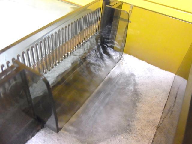 海道システムに試運転用の水道水を注入