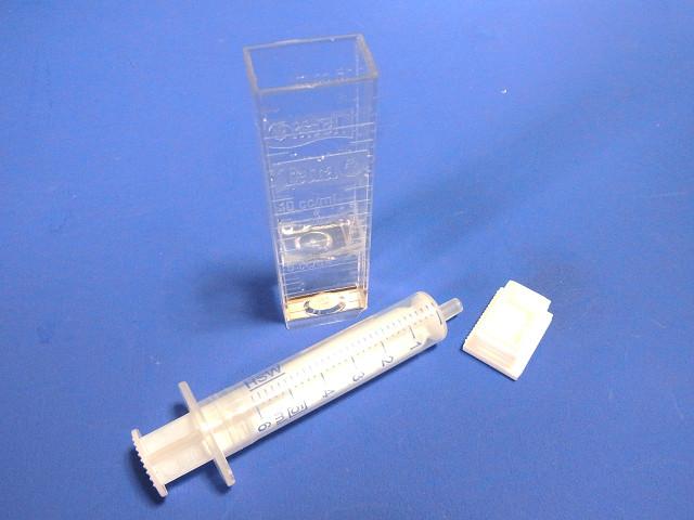 テトラテストのアンモニア試薬の使用手順