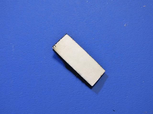 ニチドウマルチ水温計のマジックテープ