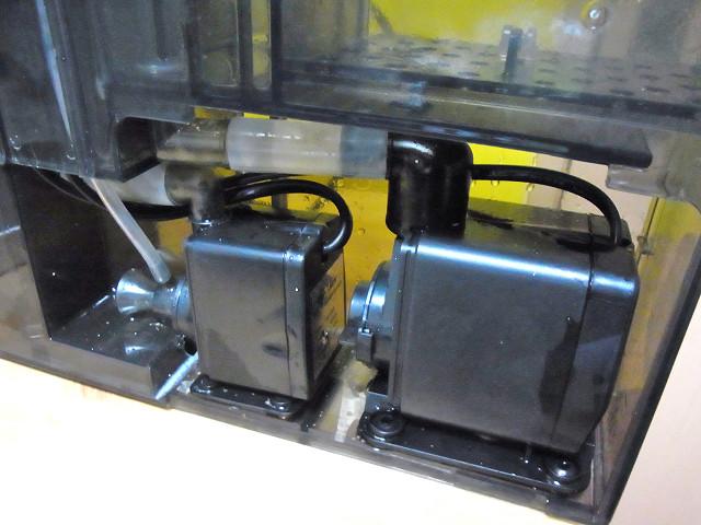 海道システム(海道水槽)の濾過槽ユニット