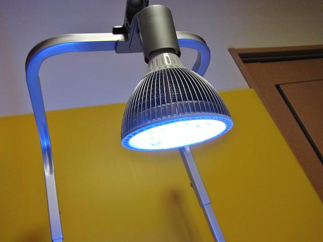 海道システムに取り付けたクリスタルエリート20 UVマリン(LED)